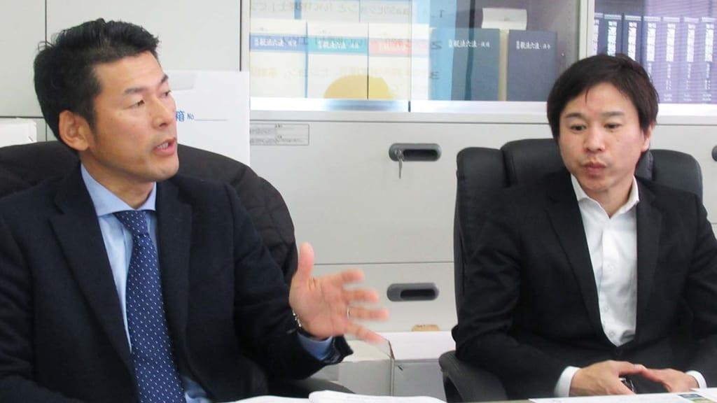 髙橋様(左)と藤本様(右) by Lanchor(ランカー)
