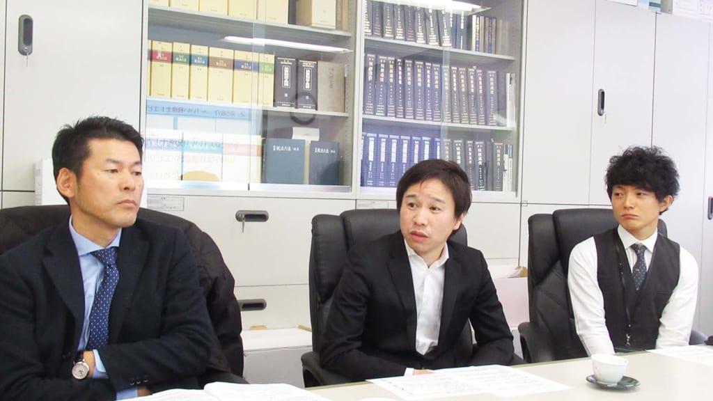 髙橋さん(左)、藤本さん(中央)、伊原さん(右)by Lanchor(ランカー)